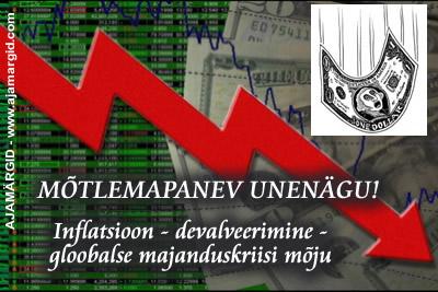 Inflatsioon.devalveerimine.majanduskriis_