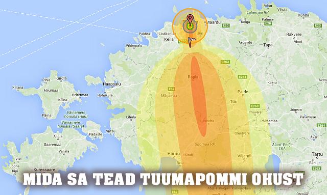 tuumapomm-tuumarelv-plahvatus-oht-kaart